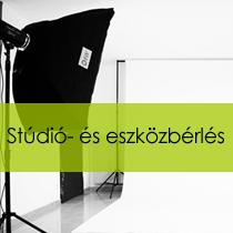 Stúdió és eszközbérlés