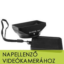 Napellenző videókamerához