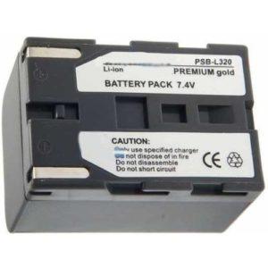Baterie i zasilacze do kamer Premium Gold Akumulator SB-L320 (3600 mAh)