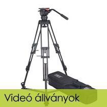Videó állványok
