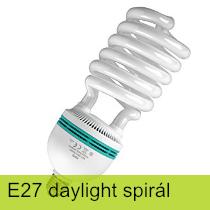 E27 Daylight Spirál