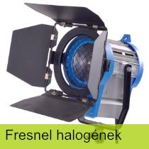 Fresnel halogén