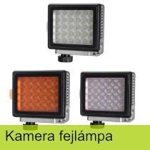 Kamera fejlámpák