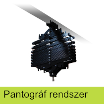 Pantográf rendszer