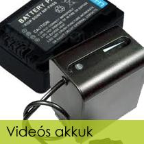 Videós akkuk