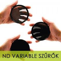 ND variable szűrők