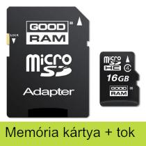 Memória kártya + tok