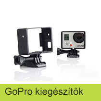 GoPro gyári kiegészítők